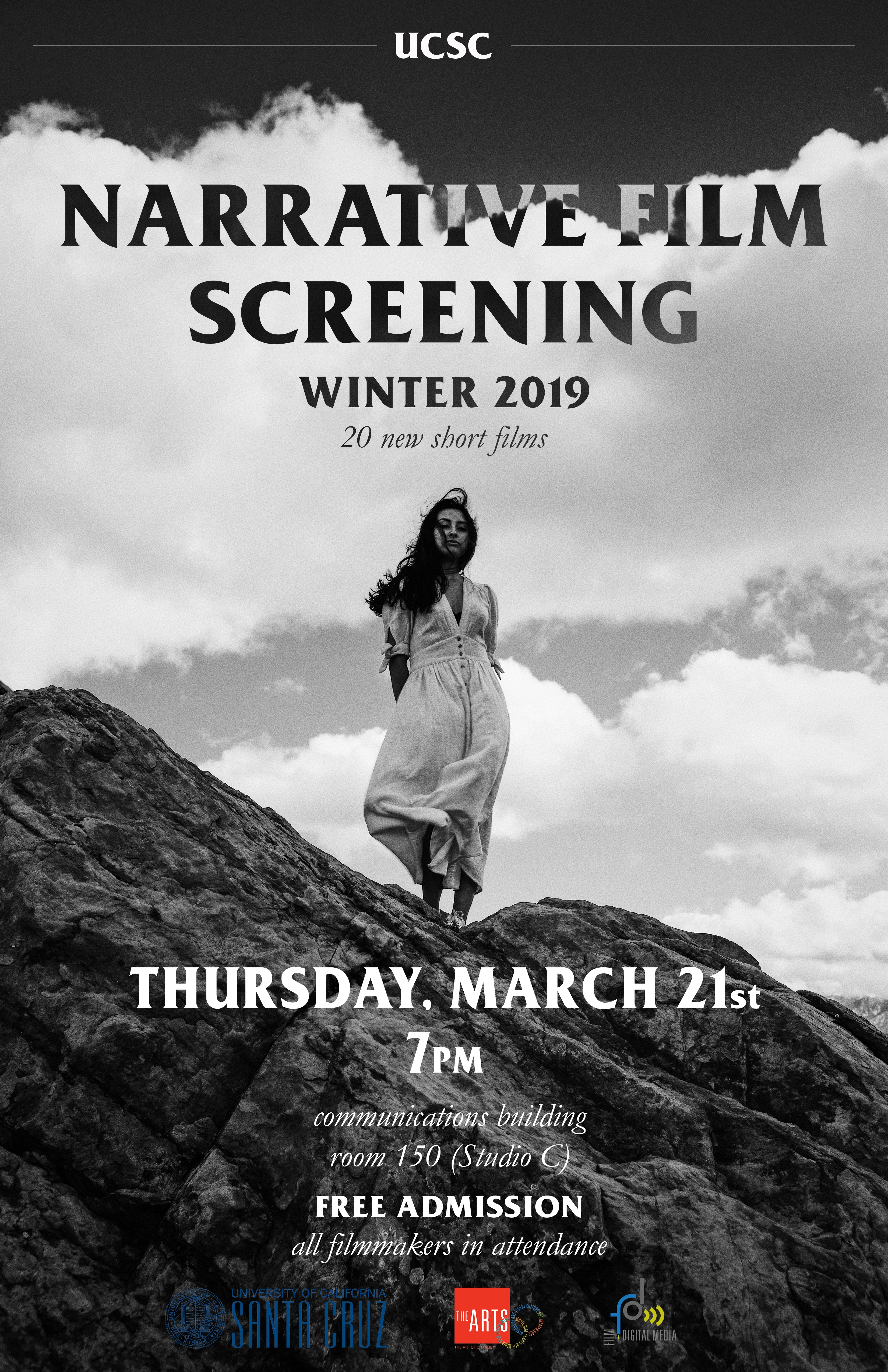 poster for production screening