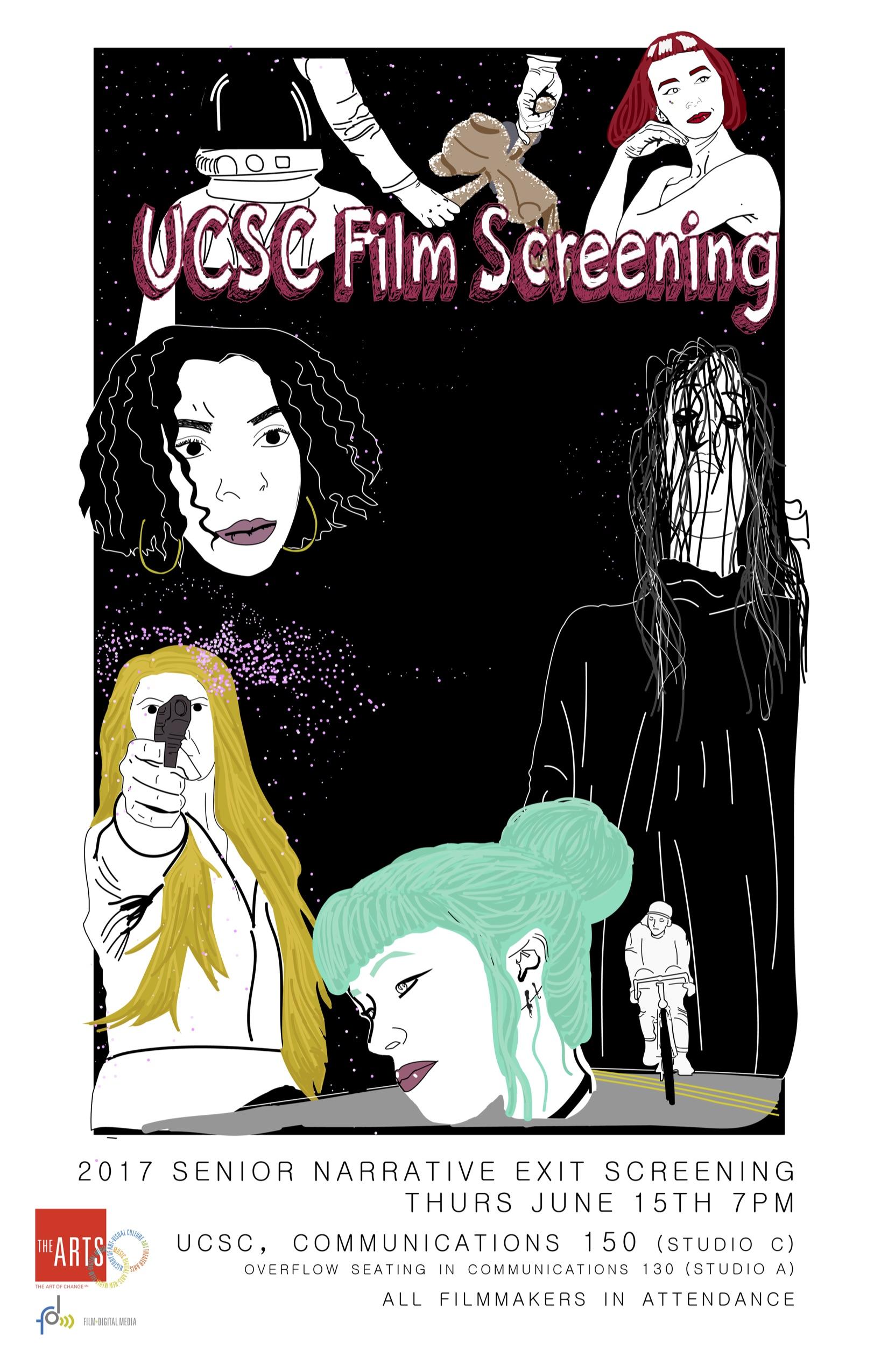 Senior Production Screening Flyer Night 1