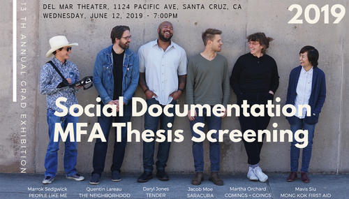 poster for social documentation screening