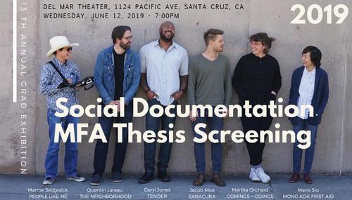 poster for social documentation screening